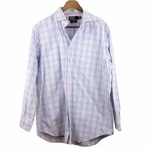 Polo by Ralph Lauren Plaid Classic Fit Shirt 16.5